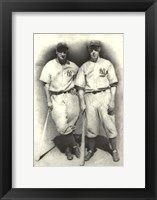 Dimaggio and Gehrig Fine Art Print
