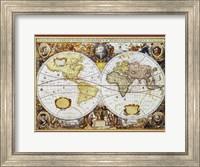 Map of the World III Fine Art Print