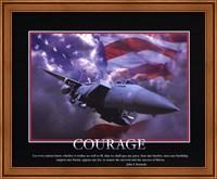Patriotic-Courage Fine Art Print