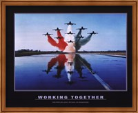 Working Together Fine Art Print