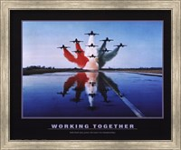Working Together Fine Art Print