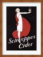Schweppes Cider Fine Art Print
