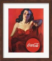 Coca-Cola Model Fine Art Print