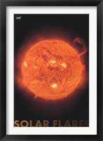 Solar Flares Wall Poster