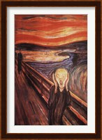 The Scream, c.1893 Wall Poster