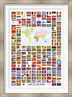 Flags of the World Wall Poster