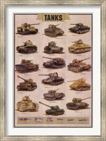 Tanks Wall Poster