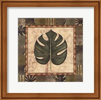 Tropical Leaf IV Fine Art Print