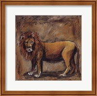 Safari Lion Fine Art Print
