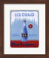Blue Raspberry Fine Art Print
