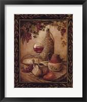 Tuscan Table - Chianti Fine Art Print