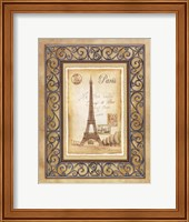 Paris Postcard Fine Art Print