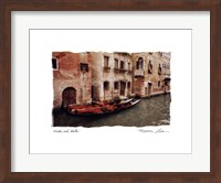 Water and Walls Fine Art Print