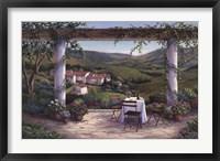 Afternoon in the Vineyard Fine Art Print