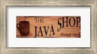 Java Shop Fine Art Print