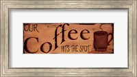 Our Coffee Fine Art Print