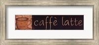 Caffe Latte Fine Art Print