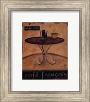 Cafe Francais Fine Art Print