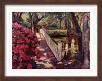 Shady Promenade Fine Art Print
