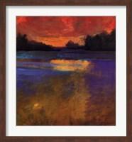 Sunset Lake Fine Art Print