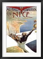 Meeting d'Aviation Nice Fine Art Print