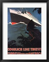 Cosulich Line Trieste Fine Art Print