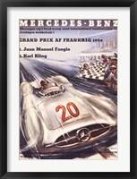 Mercedes Benz Fine Art Print
