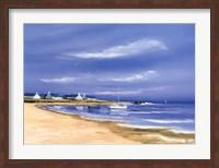 Hameau Au Bord De La Baie Fine Art Print
