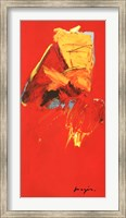 Triptyque Rouge III Fine Art Print