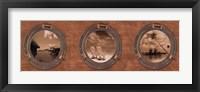 Portholes to the World Fine Art Print