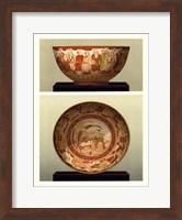 Oriental Bowl and Plate II Fine Art Print