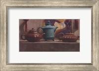 Tea and Silk Tassels Fine Art Print