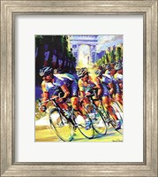 Victory on the Champs Elyses Fine Art Print