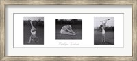 Marilyn's Workout (triptych) Fine Art Print