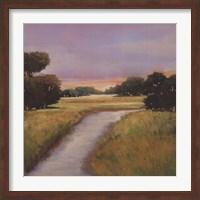 Golden Marsh Fine Art Print