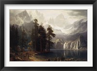 Sierra Nevada Fine Art Print