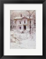 Victorian Winter, 1987 Fine Art Print