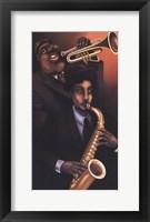 Jazz City 1 Fine Art Print