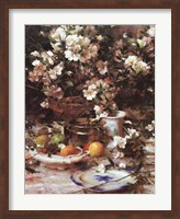 Azaleas and Oranges, 1987 Fine Art Print