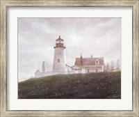 Fog at Pemaquid Fine Art Print
