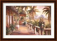 Tropical Retreat II Fine Art Print