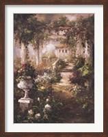 Flowering Trellis Fine Art Print