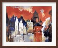 Orange Sky Fine Art Print