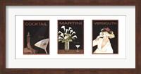 Cocktail Trilogy Fine Art Print