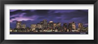 Boston at Dusk Fine Art Print