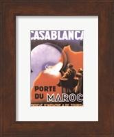 Casablanca Porte du Maroc Fine Art Print