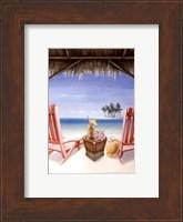 Island Retreat Fine Art Print