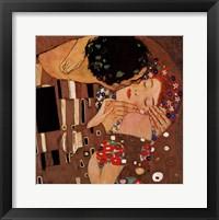 The Kiss, c.1908 (detail) Fine Art Print