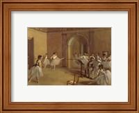 Dance Foyer at the Opera Fine Art Print