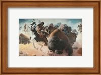 Buffalo Hunt Fine Art Print